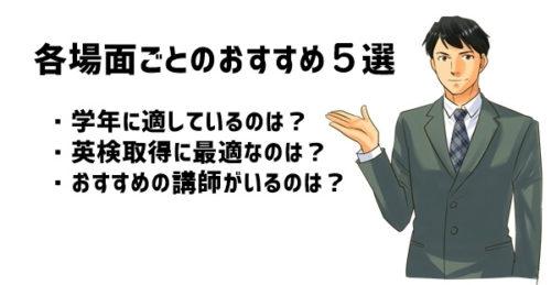 目的で考える小学生オンライン英会話おすすめ5選